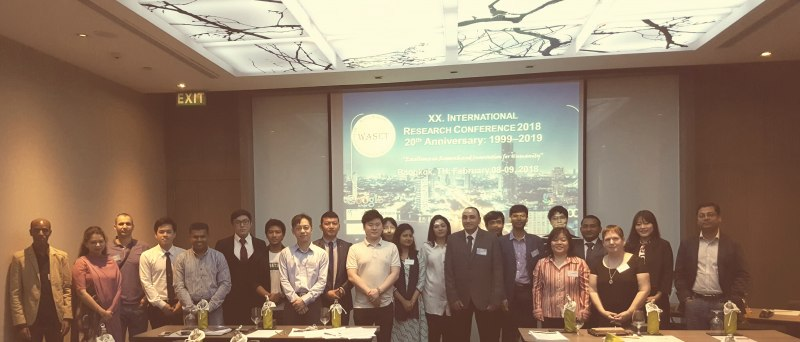 Photos of Global Geophysics and Mineralogy in Bangkok #24